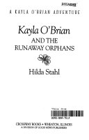 Kayla O Brian and the Runaway Orphans