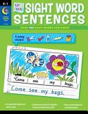 Cut   Paste Sight Words Sentences