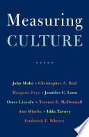 Book Measuring Culture