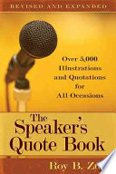 The Speaker s Quote Book