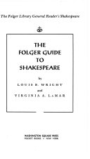 Folger Guide to Shakespeare