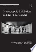 Monographic Exhibitions and the History of Art Book PDF