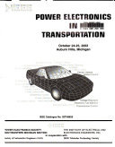 Power electronics in transportation