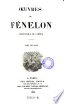 Oeuvres de Fenelon, Archeveque de Cambrai
