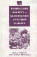 Bourgeois Society In Nineteenth Century Europe book