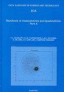 Handbook Of Chemometrics And Qualimetrics book