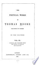 The Poetical Works of Thomas Moore  Satirical and humorous poems  The Fudges in England  Miscellaneous Book PDF