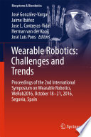 Wearable Robotics  Challenges and Trends