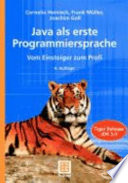 Java Als Erste Programmiersprache