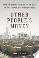 Other People s Money Book PDF