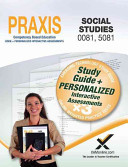 Praxis Social Studies 0081  5081 Book and Online