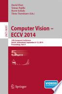 Computer Vision Eccv 2014