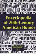 Encyclopedia Of 20th Century American Humor