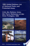 illustration 1990 United Nations List of National Parks and Protected Areas