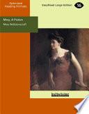 Mary  A Fiction