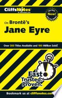 CliffsNotes on Bront     s Jane Eyre