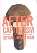 Ebook After Capitalism Epub Seymour Melman Apps Read Mobile