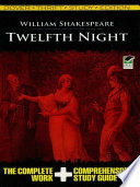 Twelfth Night Thrift Study Edition : complete study guide that features scene-by-scene...