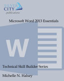 Microsoft Word 2013 Essentials