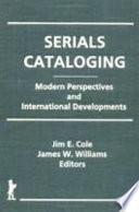 Serials Cataloging
