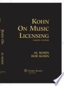 Kohn on Music Licensing