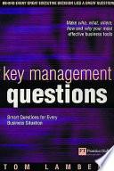 Key Management Questions