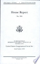 United States Congressional Serial Set  Serial No  14790  House Report No  594  in the Matter of James A  Traficant  Jr   V  6