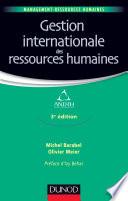 Gestion internationale des ressources humaines   3e   dition