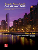MP Computer Accounting with QuickBooks 2015 with Student Resource CD ROM