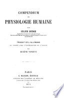 Compendium de Physiologie Humaine