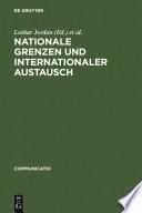 Nationale Grenzen und internationaler Austausch