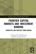 Frontier Capital Markets and Investment Banking Book