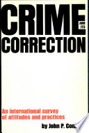 Crime And Its Correction