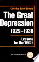 The Great Depression  1929   1938