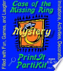 Girl s Case of the Missing Ring Mystery Party Kit