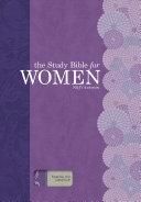The Study Bible for Women  NKJV Edition  Purple Gray Linen  Indexed