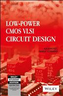 Low Power Cmos Vlsi Circuit Design