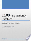 1100 Java Interview Questions