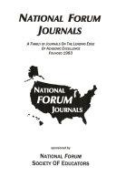 National Forum Of Teacher Education Journal