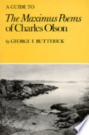 A Guide to The Maximus Poems of Charles Olson