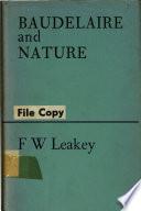 illustration du livre Baudelaire and Nature