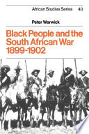 Black People and the South African War 1899 1902