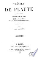 Théâtre de Plaute