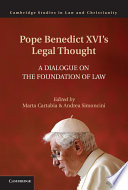 Pope Benedict XVI s Legal Thought