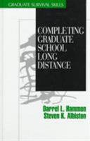 Completing graduate school long distance