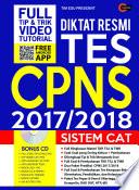 Diktat Resmi Tes CPNS 2017 2018 Sistem CAT