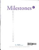 Milestones C