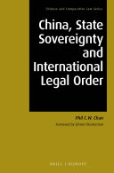 China, State Sovereignty and International Legal Order