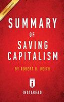 Summary of Saving Capitalism