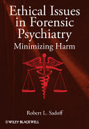 download ebook ethical issues in forensic psychiatry pdf epub